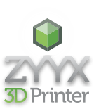 The company and creators of the ZYYX 3D Printer
