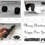 Palmiga Innovation / Rubber3Dprinting.com / Thomas Palm celebrates Christmas by sharing 3 more designs to the open source OpenR/C Formula 1 project by Daniel Norée.