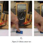 Development of ETPU 95 250 Carbon Black Binary sensor button resistor test
