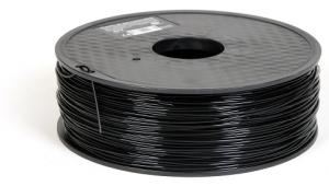 Conductive and Flexible 3D printing filament ETPU 95-250 Carbon Black 1.75mm