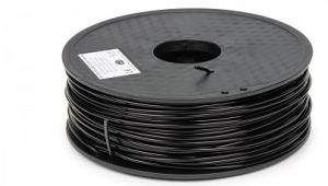 Conductive and Flexible 3D printing filament ETPU 95-250 Carbon Black 2.85 / 3 mm