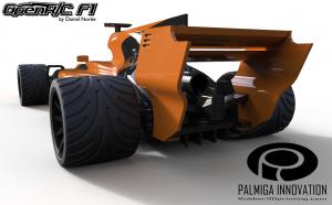 Palmiga.com Rubber3Dprinting.com OpenRC F1 low-profile aqua tire