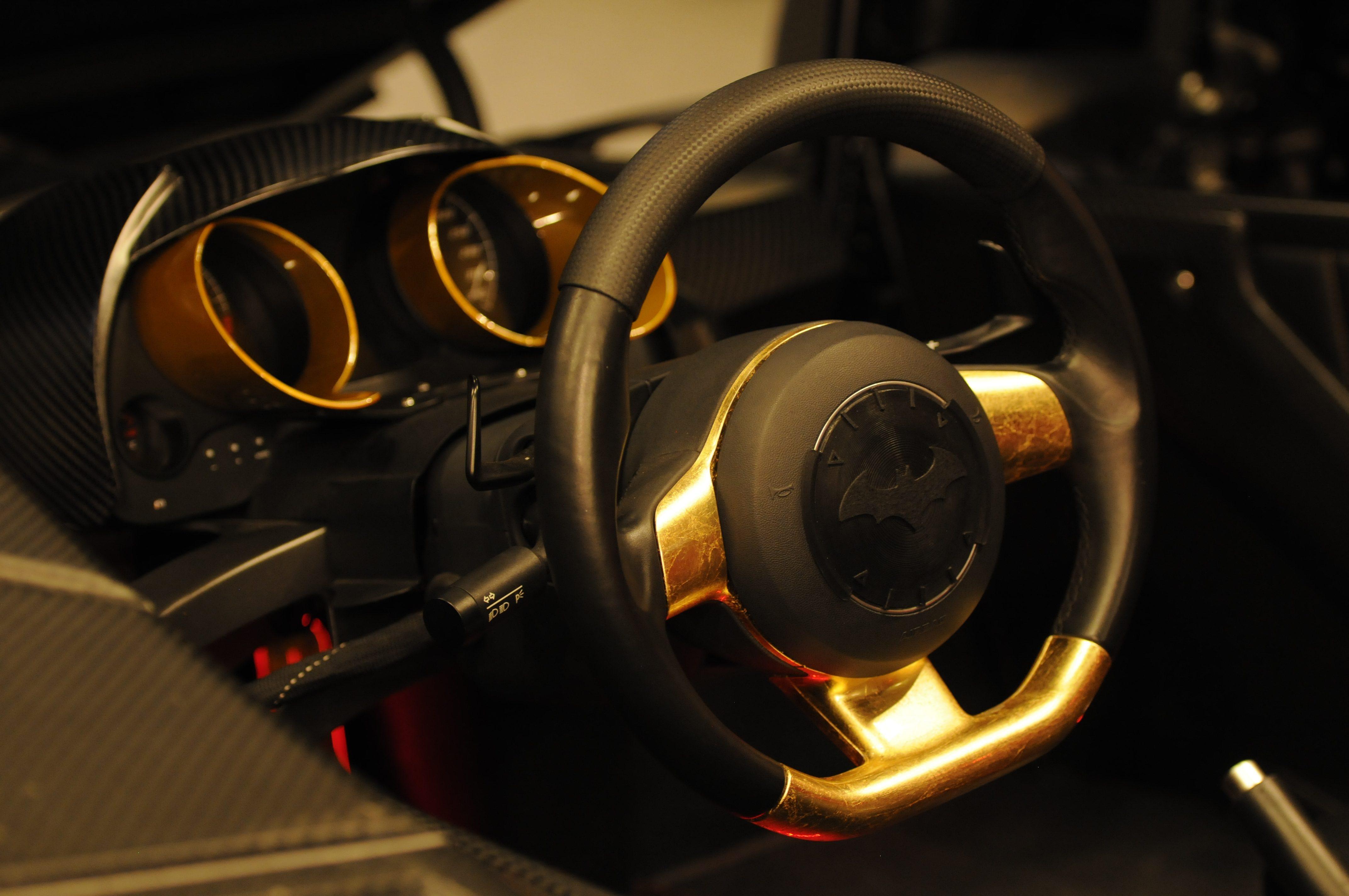 Caresto Arkham Car – 3D printed parts by Thomas Palm - Palmiga Innovation / Rubber3Dprinting.com – New Movie